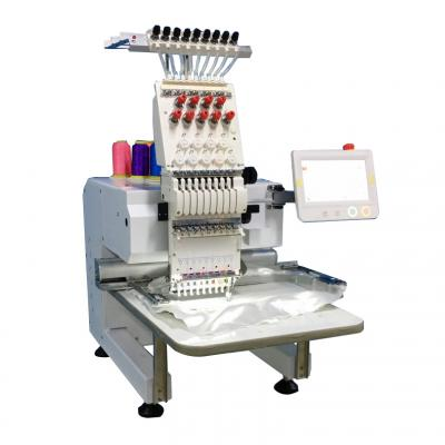 901 9 needles single head embroidery machine