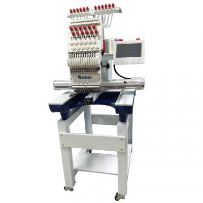 1201 12 needles single head embroidery machine