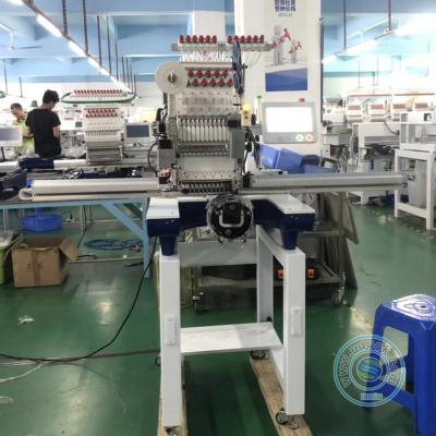 1201RL 12 needles single head embroidery machine