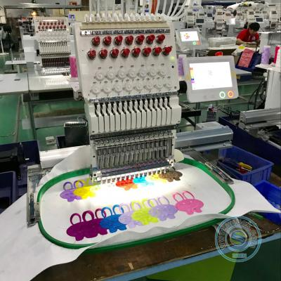 1501 15 needles single head embroidery machine