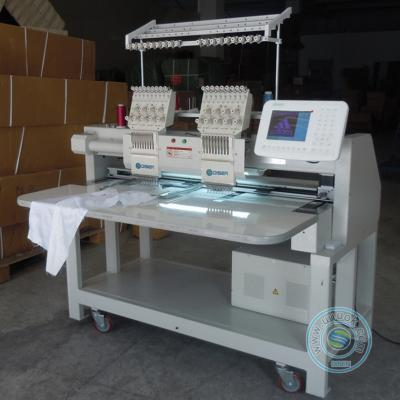 902D 2 head 9 needles dahao computer embroidery machine