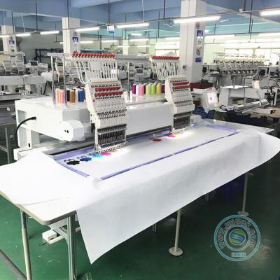 High speed 1502HL 2 head 15 needles embroidery machine