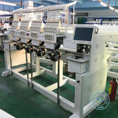 1204HT 4 head 12 needles computer embroidery machine