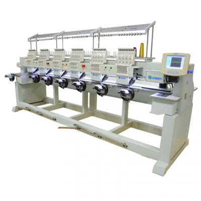 906T 6 head 9 needles computer embroidery machine