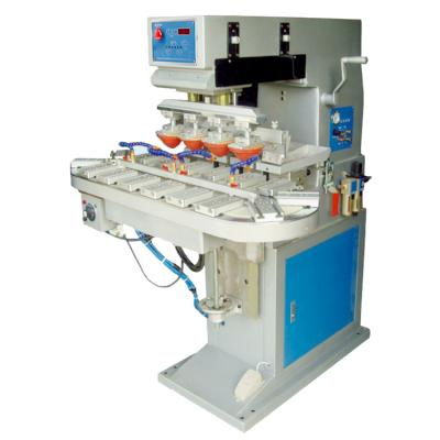 PAD-M4/C Pneumatic four-color rotary pad printing machine