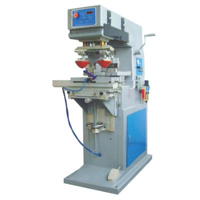 PAD-M2/S Pneumatic two-color shuttle pad printing machine