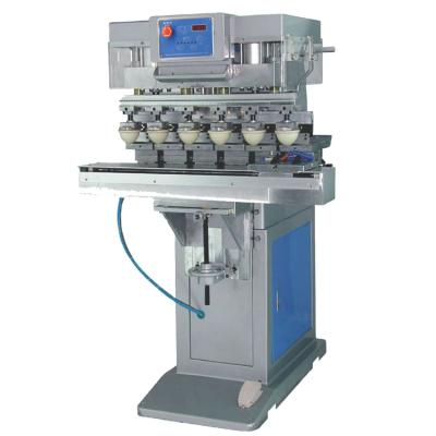 PAD-P6/S Pneumatic six-color shuttle printing machine