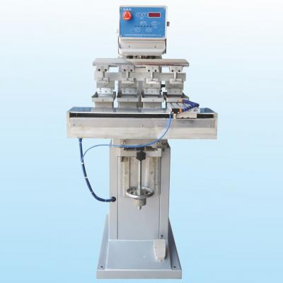 PAD-P4/S Pneumatic four-color shuttle printing machine