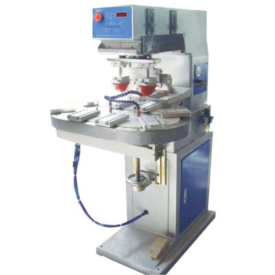 PAD-P2/C Pneumatic two-color rotary pad printing machine