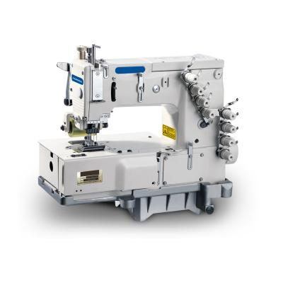 4-needle Flat Bed Doubel Chainstitch Sewing Machine
