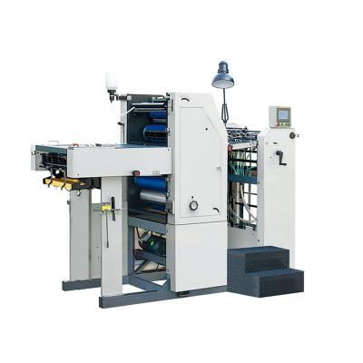 Six-drum double-sided offset printing machine